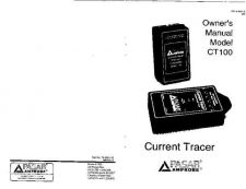 Buy Amprobe CT100 User Instructions Operating Guide by download Mauritron #194326