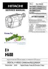 Buy Hitachi VM-8480LE NO 6810E Manual by download Mauritron #184647