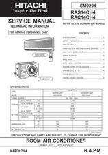 Buy HITACHI SM 0204E Service Data by download #147475
