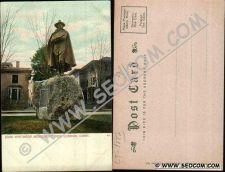 Buy CT New London Postcard John Winthrop Monument ct_box4~1882