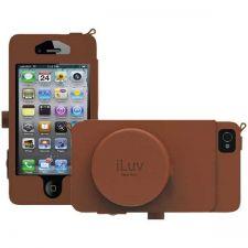 Buy Iluv Iphone 5 Leather Camera Case (tan)