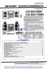 Buy Sharp CDBK100W-BP90W SM GB(1) Manual by download #179853