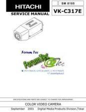 Buy Hitachi VK-C317E SM 8105E Manual by download Mauritron #184639