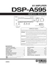 Buy YAMAHA DSP-A595 CDC-1409 by download #160589