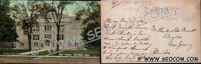 Buy CT Norwalk Postcard High School Street Scene w/Trolley Track ct_box4~2270