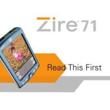 Buy PALM ZIRE71 GETTING STARTED GUIDE ENG by download #127539