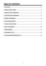 Buy Daewoo DWC-051C030 Manual by download Mauritron #184225