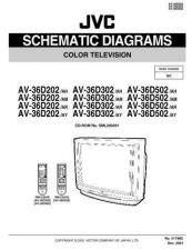 Buy JVC AV-36D302 AH sch Service Schematics by download #155371