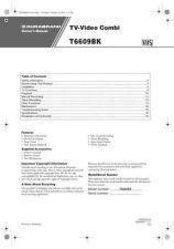 Buy Funai T6609BK(EN) 0210 Manual by download #162996