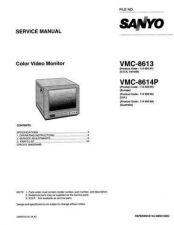 Buy Sanyo VMC-8614P-01 Manual by download #177523