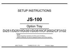 Buy Konica UNPACKJS 100 Service Schematics by download #136511
