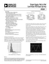 Buy INTEGRATED CIRCUIT DATA AD820J Manual by download Mauritron #186371