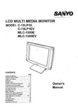 Buy Sanyo C-15LP1A Manual by download #172706