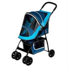 Buy Pet Gear Sport Pet Stroller Blue