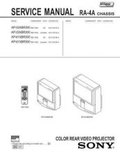 Buy MODEL RA4 Service Information by download #124416