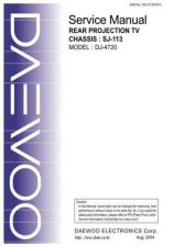 Buy DAEWOO SM DJ-4720 (E) Service Data by download #150222