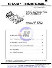 Buy Sharp ARDU3-DU4 PG GB-JP(1) Manual by download #179582