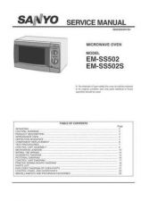 Buy Sanyo Service Manual For EM-S3552MYEUK Manual by download #175883