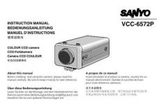 Buy Sanyo VCC-4372P Operating Guide by download #169599