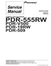 Buy PIONEER R2055 Service Data by download #153092