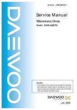 Buy Daewoo Model KOR-6Q275S Manual by download #168660