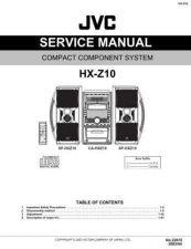 Buy JVC HX-Z10J Service Schematics by download #155992