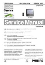 Buy PHILIPS 32PW9576 12E EM-3E Service Data by download #133102