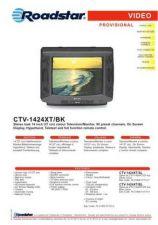 Buy ROADSTAR CTV-1424XT BK by download #127999