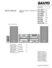 Buy Sanyo Service Manual For RD-X8 Manual by download #176028