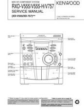 Buy RXD-V757 V555 Service Schematics by download #131779