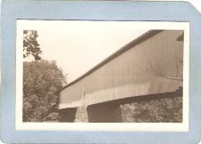 Buy GEN Unknown Covered Bridge Postcard Covered Bridge Real Photo Post Card RP~1049