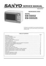 Buy Sanyo Service Manual For EM-S3552SEUK Manual by download #175884