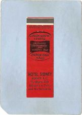 Buy CAN Sidney Matchcover Hotel Sidney can_box1~76
