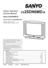 Buy Sanyo CE25DN6MD-B-00 SM Manual by download #173038