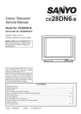 Buy Sanyo CE28DN6-B-01 SM Manual by download #173115