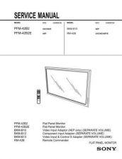 Buy Sony PFM42B2 SM Service Manual by download Mauritron #194091