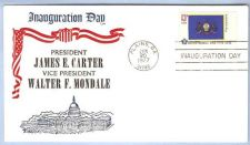Buy GA Plains First Day Cover / Commemorative Cover Jimmy Carter Inauguration ~48