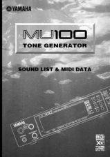 Buy Yamaha MU100E2 Operating Guide by download Mauritron #203936