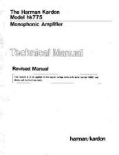 Buy HARMAN KARDON CS3009 TS Service Manual by download #142227