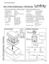 Buy INFINITY US 1 TS Service Manual by download #148003