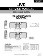 Buy JVC RC-BZ5LB Service Manual by download #156450