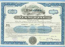 Buy DE na Stock Certificate Company: Texaco Inc. ~84