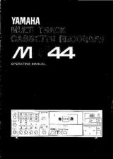 Buy Yamaha MT44E Operating Guide by download Mauritron #204905
