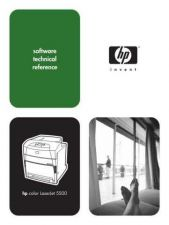 Buy HEWLETT PACKARD HP Color Laserjet 5500 Software Technical Reference by download