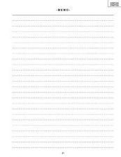 Buy Sharp 395 29WF200 500 P21-30 Manual by download #178439