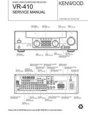 Buy KENWOOD VR-410 Technical Info by download #152069