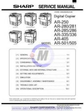 Buy Sharp AR280-285-335 PG GB Manual by download #179400