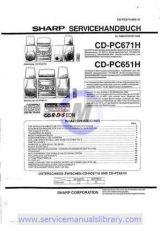 Buy Sharp CDRW5000H-W SM GB Manual by download #180083