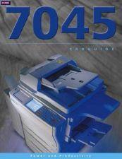 Buy Konica 7045PG Service Schematics by download #135530