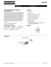 Buy SEMICONDUCTOR DATA IRF620J Manual by download Mauritron #188321